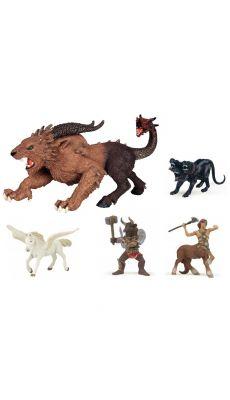 Figurines Mythologiques PAPO - Lot de 5