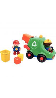 Le camion de tri des déchets TOLO + 2 personnages