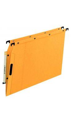 L'OBLIQUE - 600500 - Dossier suspendu pour armoire - Dos 5 mm - Jaune - Paquet de 25