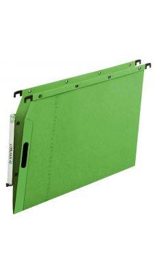 L'OBLIQUE - 601500 - Dossier suspendu pour armoire - Dos 5 mm - Vert - Paquet de 25