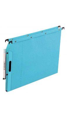 L'OBLIQUE - 600001 - Dossier suspendu pour armoire - Dos 15 mm - Bleu - Paquet de 25