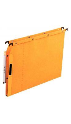 L'OBLIQUE - 600501 - Dossier suspendu pour armoire - Dos 15 mm - Jaune - Paquet de 25