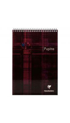 Clairefontaine - 8552 - Bloc pupitre spirale petit carreaux - 120 pages - 75x120 mm
