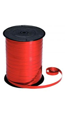 MAILDOR - BOL 220 0006 - Bobine 250m x 7mm bolduc metal rouge