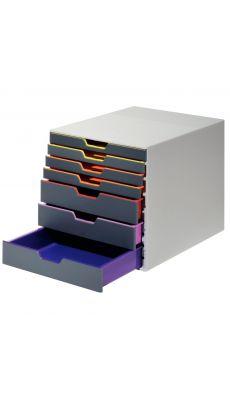Durable - 7607-27 - Module de classement en plastique ABS avec 7 tiroirs