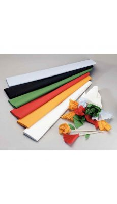 MAILDOR - 95129C - Papier crepon superieur 250x50 noir