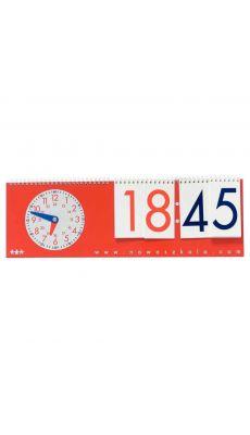 Chevalet date et heure