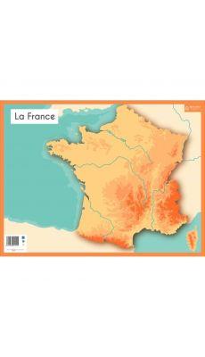 Bouchut grandremy - 011555 - Ardoise effaçable à sec fleuves / seyes