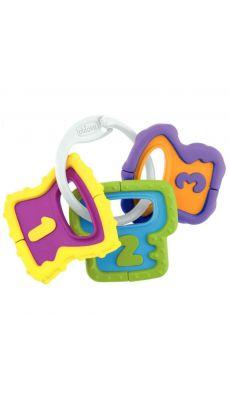 Trousseau de 3 clés colorées CHICCO