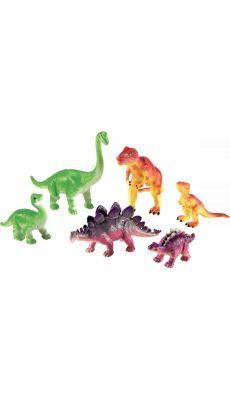 Jumbo dinosaures, mamans et bébés - Boite de 6