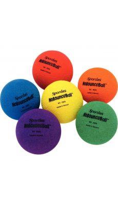 Balles non rebondissantes diamètre 9cm - Lot de 6