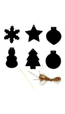 Formes de Noël à gratter - Sachet de 39