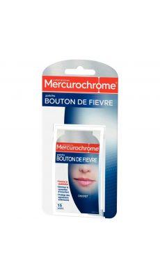 MERCUROCHROME - 501432 - Patch bouton de fièvre des Laboratoires Mercurochrome® - Boite de 15