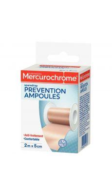 MERCUROCHROME - 504303 - Sparadrap prévention ampoules