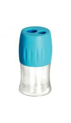 Taille crayon éco 2 usages en plastique + réserve
