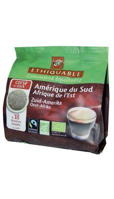 Café Bio - Paquet de 18 dosettes