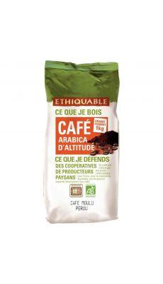 Café moulu Bio du Perou - Paquet de 1 kg