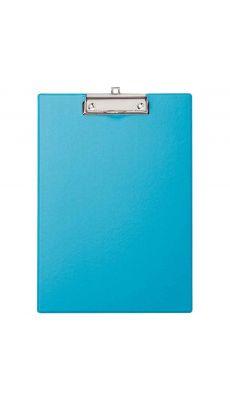 Plaque porte bloc en plastique A4 bleu