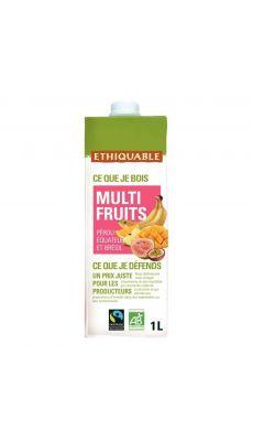 Jus Multi-fruits Bio - Brique d'1 litre
