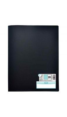 Elba - 100206077 - Protège-document fixe - Noir - 40 Vues