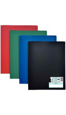 Elba - 100206217 - Protège-document fixe - Assortie - 80 Vues - Carton de 10