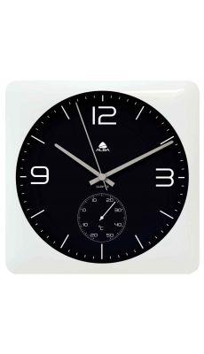 ALBA - HORDUO BC - Horloge murale carrée 30x30cm