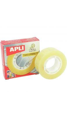 APLI AGIPA - 14889 - Rouleau adhésif transparent 19x33mm