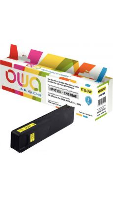 ARMOR - K20468OW - Cartouche compatible HP CN628AE Jaune