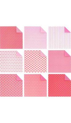 MAILDOR - OR500 O - Pochette de 60 feuilles Origami Coeur 20 x 20 cm