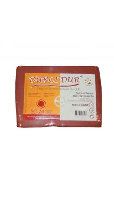 SOLARGIL - Argile naturelle a modeler pate plus rouge - Pain de 1.5kg
