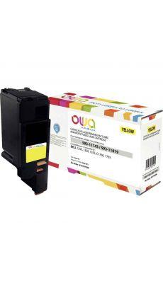 ARMOR - K15797OW - Toner compatible Dell W8X8P / WM2JC - Jaune
