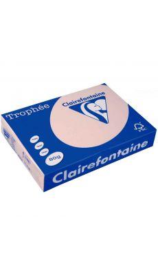 Clairefontaine - 1769 - Ramette papier A4 80g - Saumon - 500 Feuilles