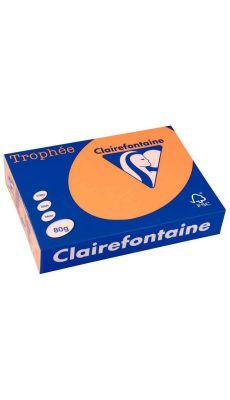 Clairefontaine - 1878 - Ramette papier A4 80g - Clémentine - 500 Feuilles
