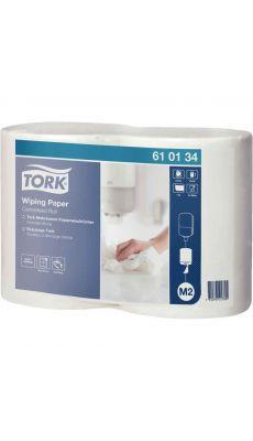 TORK - Bobines papier d'essuyage à dévidage central M2 - Lot de 2