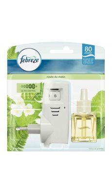 Febreze - 999749 - Désodorisant Electrique avec recharge parfum Rosée du matin 20ml