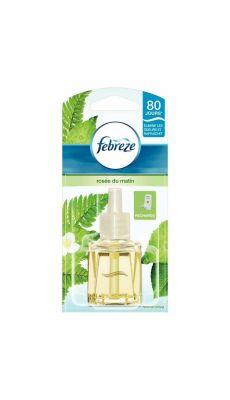 Febreze - 787174 - Recharge pour diffuseur électrique parfum Rosée du matin 20ml