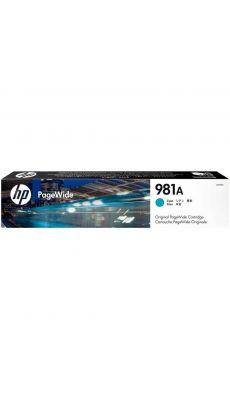 HP - J3M68A - Cartouche cyan 981A