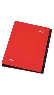 Extendos -  752.2409 - Trieur alphabétique 24 compartiments - Rouge