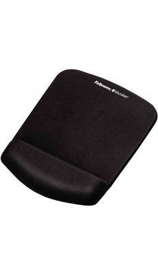 Fellowes - CRC 92520 - Tapis de souris repose-poignet Plush touch - Noir