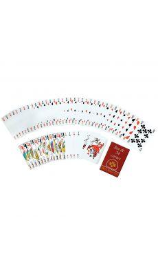 Jeu de carte sous etui carton - jeu de 54