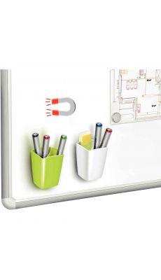 CEP - 1005310021 - Pot à crayon magnétique blanc