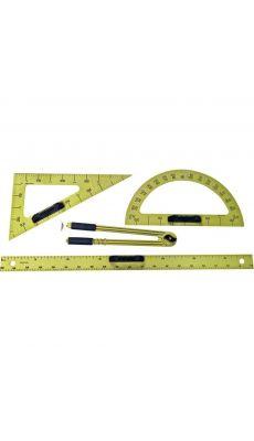 Accessoires en plastique magnétique pour tableau - Lot de 4