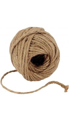 Ficelle jute naturelle 2,5mm x 100gr