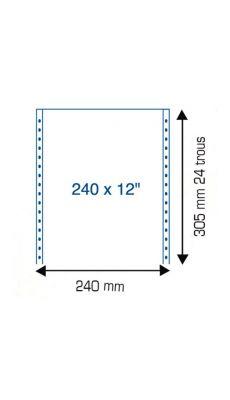 Listing u12p240 2+0p mp4c - Paquet de 1250
