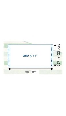Listing uni 11p380 1p 70g bf - Paquet de 2000