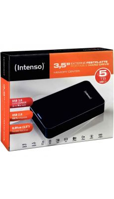 Intenso - 022427 - Disque Dur Portable 3.5 pouces - USB 3.0 - 5 To