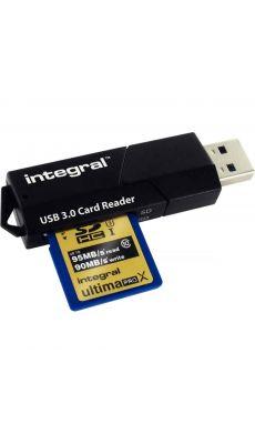 Integral - INCRUSB3.0SDM - Lecteur de carte mémoire Micro SD