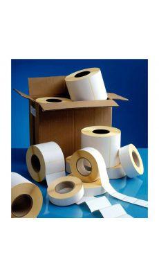 Etiquettes thermiques adhésives 40x30mm - Carton de 16 rouleaux