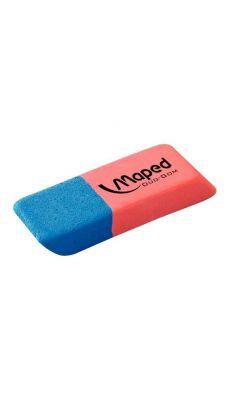 MAPED - 010033 - Gomme bicolore encre crayon pm - boite de 40