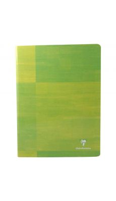 Clairefontaine - 3381 - Cahier piqûre grand carreaux - 24x32 cm - 144 Pages